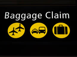 Head to baggage claim to report your luggage missing